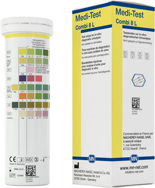 Urine test strips, Medi‑Test Combi8L