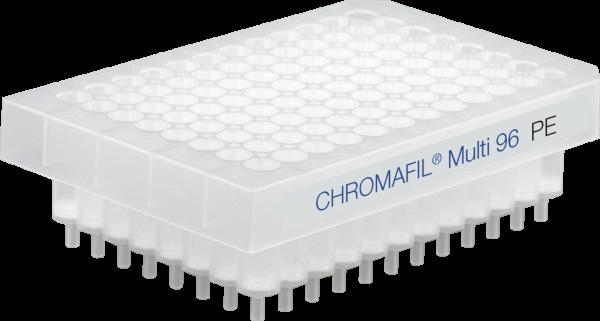 96-well filter plates, CHROMAFIL Polyethylene (PE), approx. 8 mm, 40-100 µm