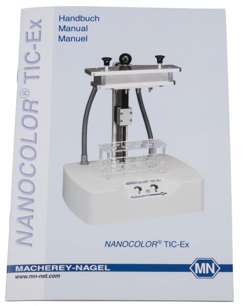 Manual for NANOCOLOR TIC‑Ex