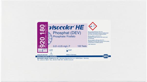 Colorimetric test kit VISOCOLORHE Phosphate (DEV), refill pack
