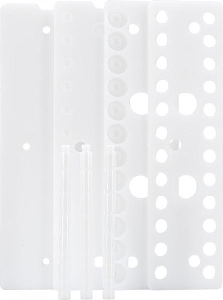 Rack for CHROMABOND SPE vacuum manifold, 24 positions