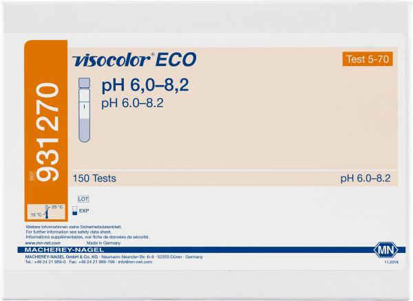 Colorimetric test kit VISOCOLORECO pH6.0–8.2, refill pack