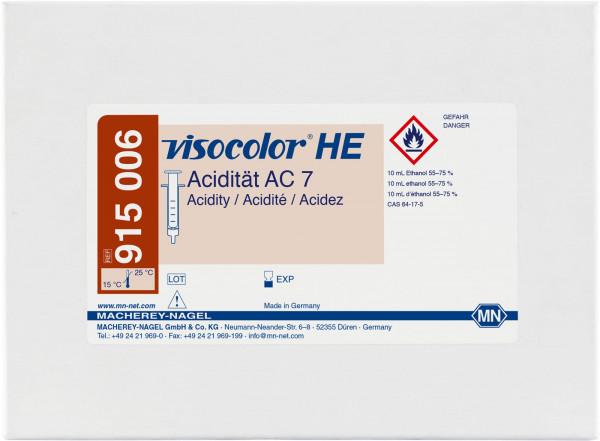 Titrimetric test kit VISOCOLORHE Acidity AC7 (base capacity)