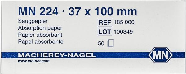 Microscopy paper MN224, Block, 3.7 cm x 10 cm, 50sheets