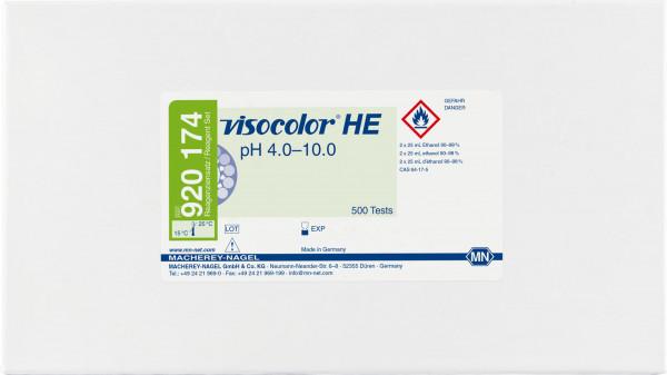 Colorimetric test kit VISOCOLORHE pH4.0–10.0, refill pack
