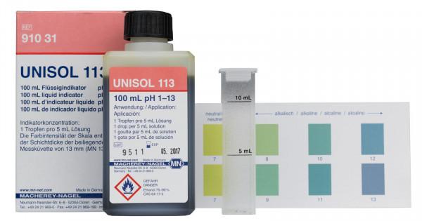 Colorimetric reagents UNISOL113 for pH 1‑13
