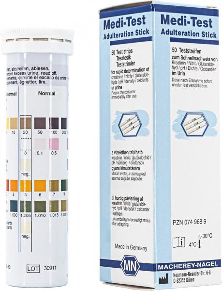 Urine test strips, Medi‑Test Adulteration Stick