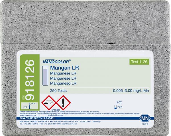 Standard test NANOCOLOR ManganeseLR