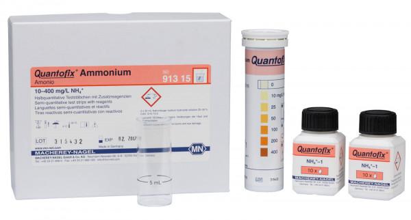 Semi-quantitative test strips QUANTOFIX Ammonium