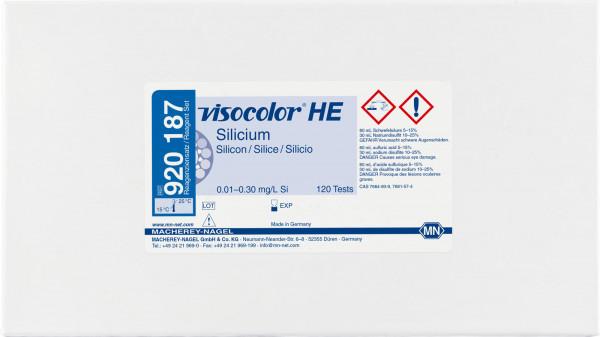 Colorimetric test kit VISOCOLORHE Silicon, refill pack