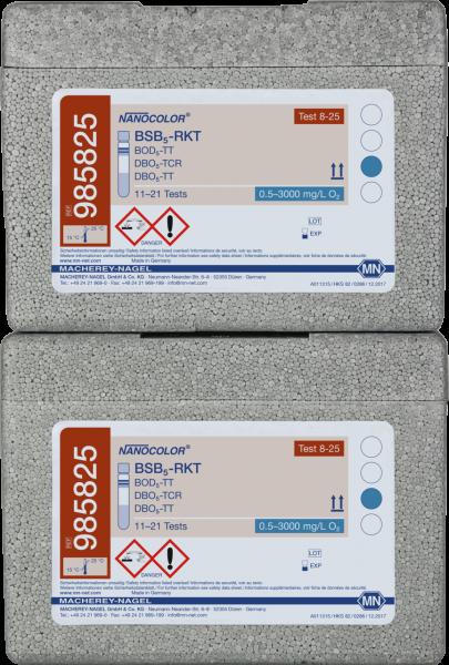 Tube test NANOCOLOR BOD₅-TT
