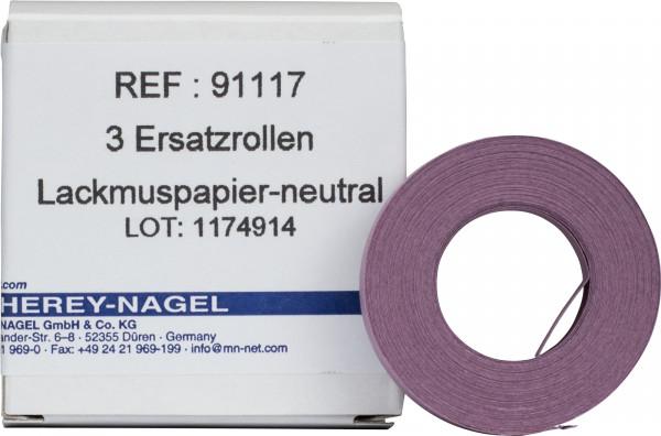 Qualitative pH test paper Litmus paper neutral, pH: 5.0–8.0, refill pack