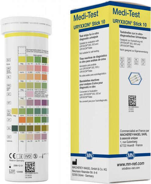 Urine test strips, Medi‑Test URYXXON Stick 10