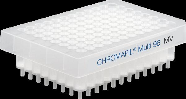 96-well filter plates, CHROMAFIL MV, Approx. 8 mm, 0.45 µm